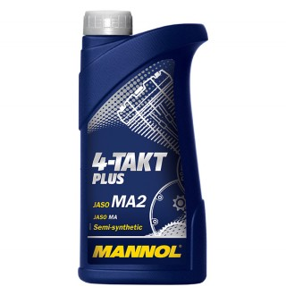 MANNOL 4-Takt Plus Semy-Synthetic 10W40 SL 1L